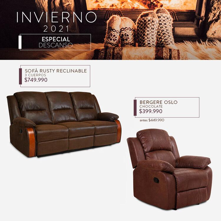 ofertas en muebles para living cic