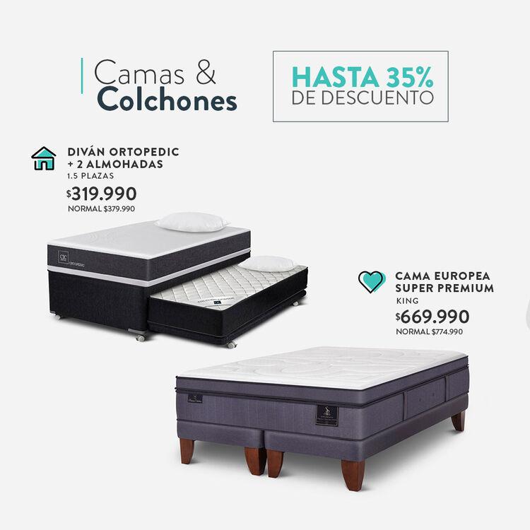 Ofertas en camas cic.cl