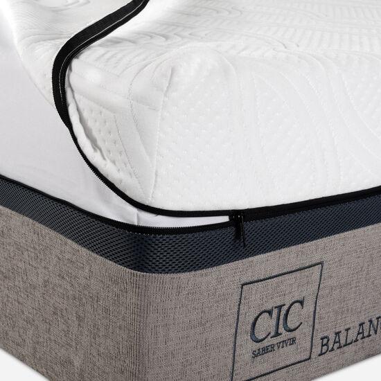 Colchón 2 Plazas Balance 150x190 + Almohadas