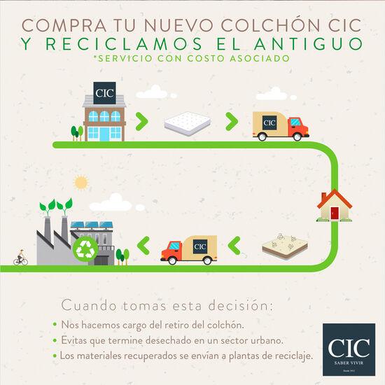 Colchón 1.5 Plazas Anatomic 105X200