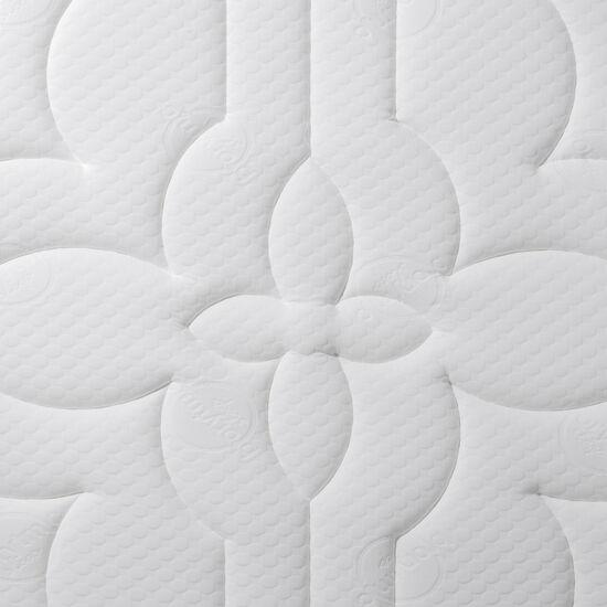 Cama Europea King Super Premium + Set Támesis + Almohadas de Pluma
