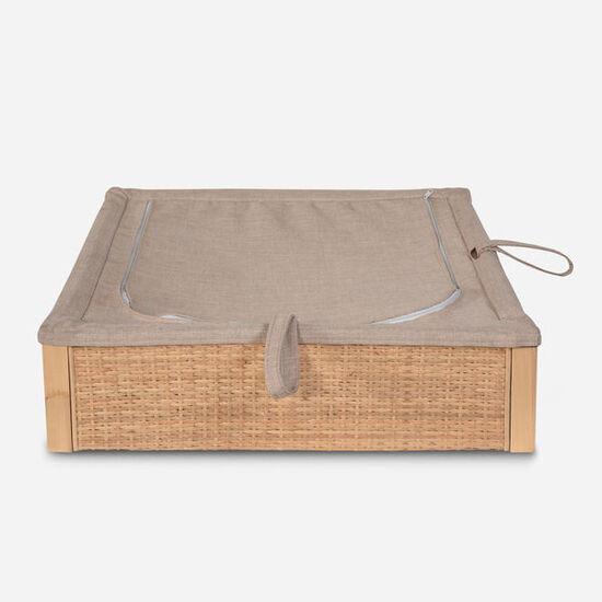 Caja Organizadora de Rattan