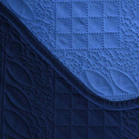 Quilt Super King Ultrasonic Navy
