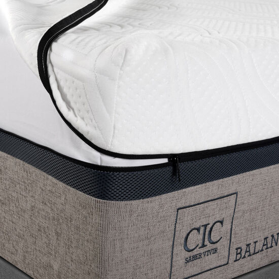 Cama Europea King Balance + Set Milán