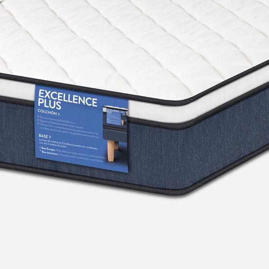 Colchón 1 Plaza Excellence Plus 90X190 + Almohada