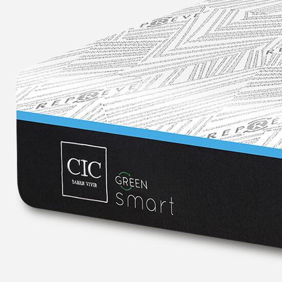 Colchón King 180x200 Smart Green + Almohadas Viscoelásticas