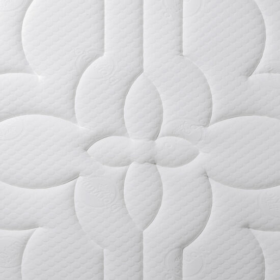 Cama Europea Super King Super Premium + Set Támesis + Almohadas 15% Pluma de Ganso