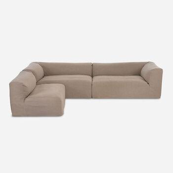 Sofá Seccional Relax Natural