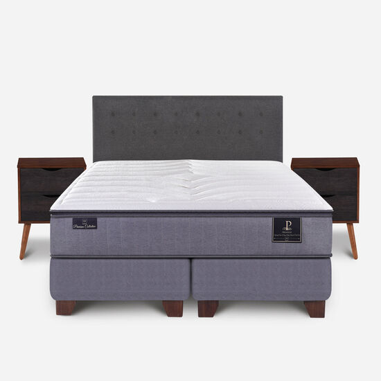 Box Spring King Premium + Set Eufrates