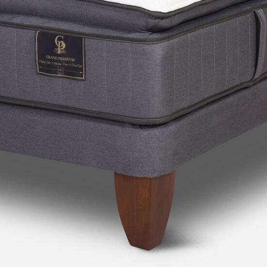 Cama Europea King Grand Premium + Set Antique