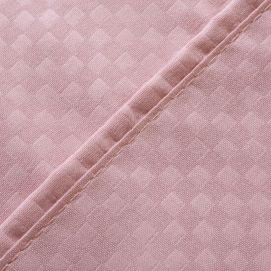 Sábana King Embossed Whisper Pink