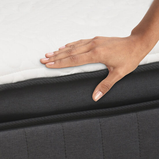 Cama Europea King Grand Premium + Set Támesis + Almohadas Pluma de Ganso