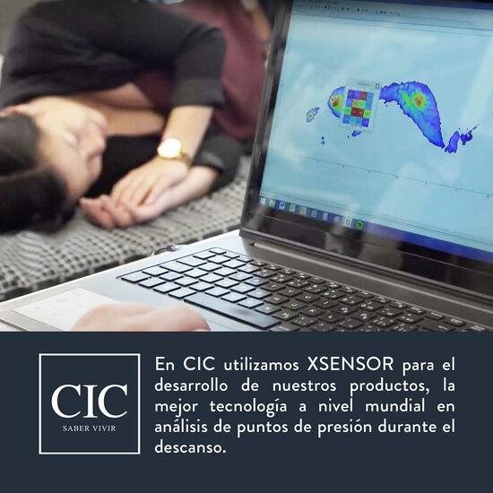 Colchón King Cocopedic 180x200 + Almohadas Viscoelásticas + Plumón