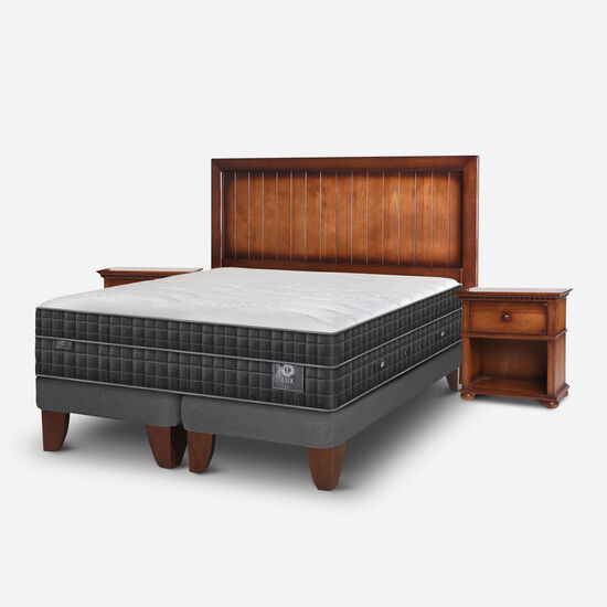 Cama Europea Super King Lux + Set Monterrey