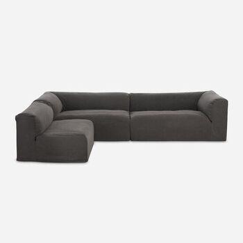 Sofá Seccional Relax Gris