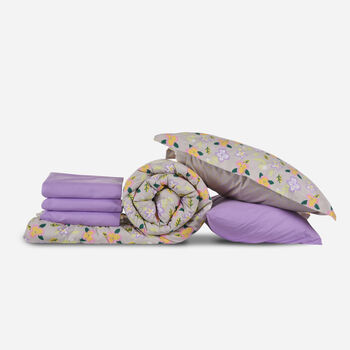 Set Cama King Amapolas