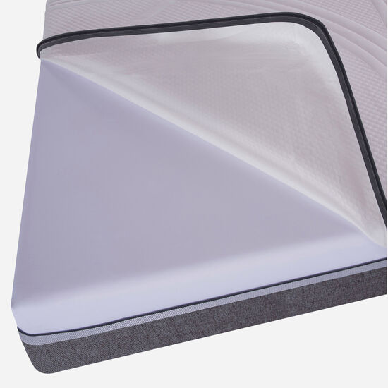 Box Spring 2 Plazas Ortopedic Advance Base Dividida 5 Zonas + Set Torino Choc
