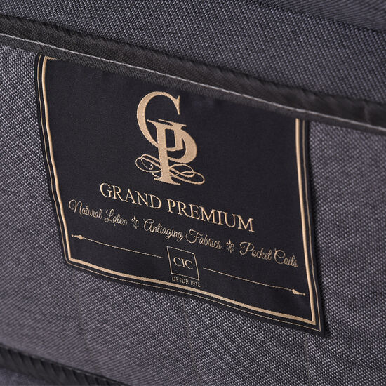 Cama Europea Super King Grand Premium + Respaldo Támesis