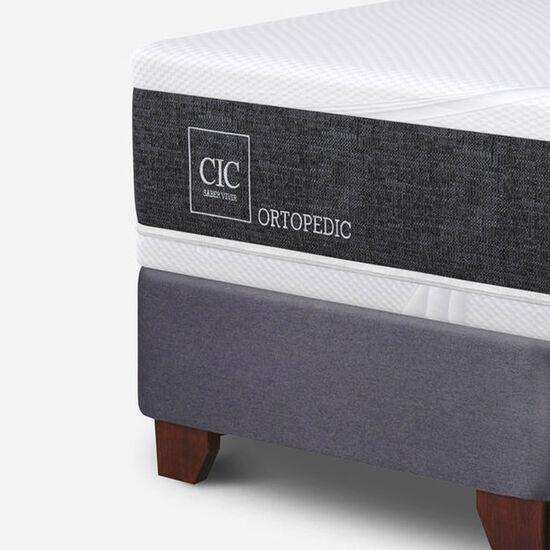 Box Spring King Ortopedic + Set Torino Choc